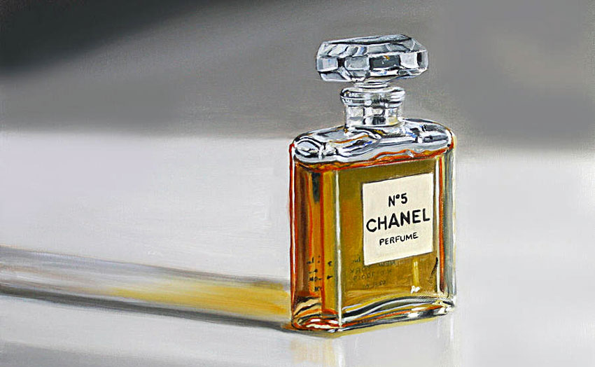 Several of Chanel's close artist friends, including Salvador Dali and Andy Warhol, painted pictures of the iconic No. 5 bottle
