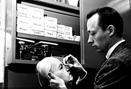 """Richard Emerson """"Dick"""" Smith (June 26, 1922 – July 30, 2014) was an American special effects make-up artist (nicknamed """"The Godfather of Make-Up"""") known for his work on  films such as The Godfather, The Exorcist, Taxi Driver, and Death becomes Her. He won a 1985 Academy Award for Best Makeup and Hairstyling for his work on Amadeus and received a 2012 Academy Honorary Award for his career's work.  In later life, Smith concentrated on teaching his methods to up and coming make-up artists.  Smith died in Los Angeles on July 30, 2014 at the age of 92."""